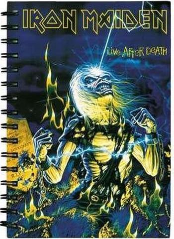 A5 Ring Notizbuch - Iron Maiden