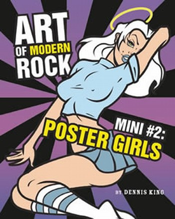 Art of Modern Rock Mini#2 Poster Girls