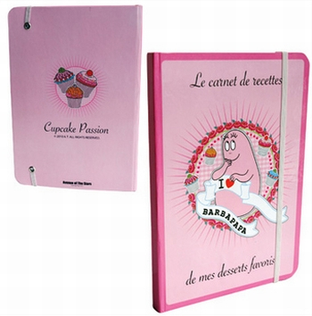 Barbapapa Notizbuch A5 - Cupcake Passion