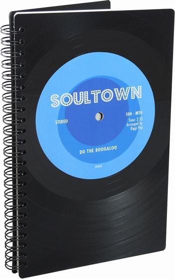 Phonoboy Notizbuch Vinyl - Soultown
