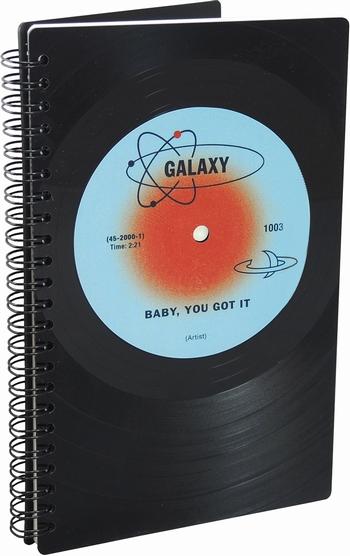 Phonoboy Notizbuch Vinyl - Galaxy