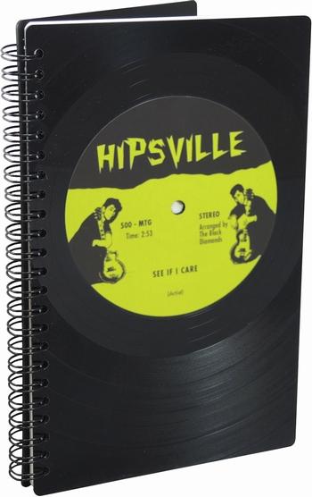 Phonoboy Notizbuch Vinyl - Hipsville