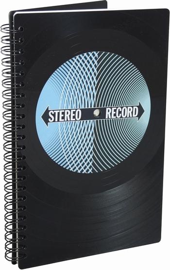 Phonoboy Notizbuch Vinyl - Stereo Record