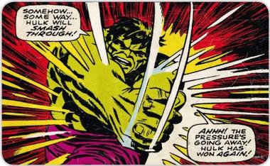 Frühstücksbrettchen - Hulk will smash trough