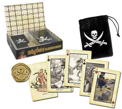 Piraten Pokerkarten Set