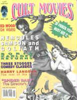 CULT MOVIES - Issue Number 20