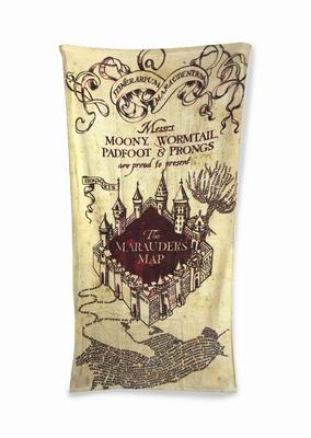 Strandtuch Harry Potter Marauders Map