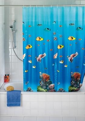 duschvorhang ozean meer fische klang und kleid interior duschvorh nge duschvorhang. Black Bedroom Furniture Sets. Home Design Ideas
