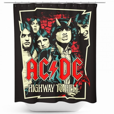 AC/DC Duschvorhang - Highway To Hell