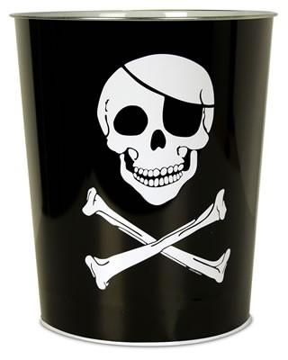 Piraten Papierkorb/ Mülleimer
