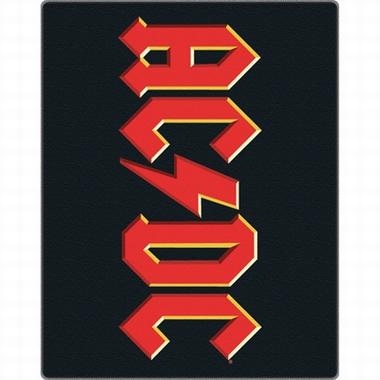 AC/DC - Fleecedecke mit Logo
