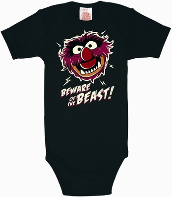 Babybody - Beware of the Beast - Muppets -  schwarz