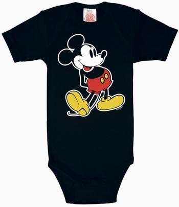 Babybody - Disney - Mickey Maus - Schwarz