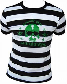 Sold my soul to Rock n Roll Shirt gestreift
