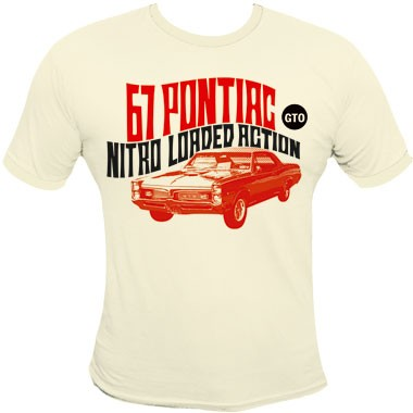 67 Pontiac Gto Shirt