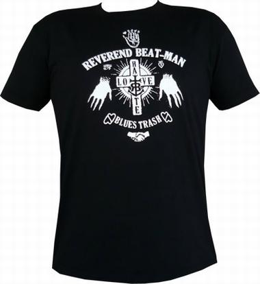 Beat-Man - Hands - Men-Shirt schwarz