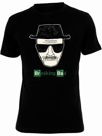 Heisenberg Pic Breaking Bad T-Shirt - Schwarz - Breaking Bad