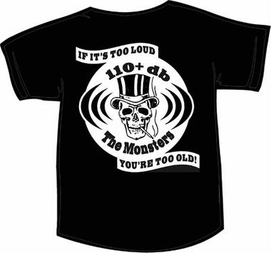 The Monsters Girl T-Shirt - 110DB+