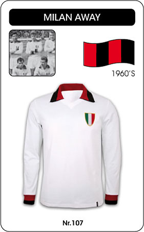 AC Mailand AC Milan Retro Trikot