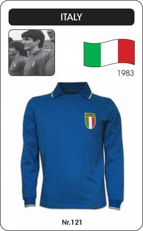 Italien Retro Trikot Langarm