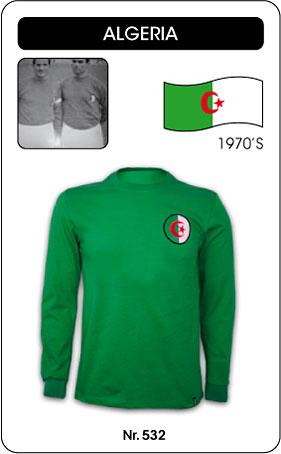 Algerien Retro Trikot Langarm