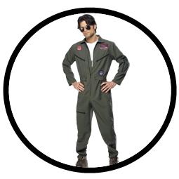 Top Gun Kostüm - Klicken für grössere Ansicht