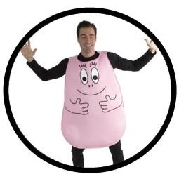 Barbapapa Kostüm - Erwachsene pink - Klicken für grössere Ansicht