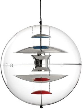 verner panton lampen von klang und kleid verner panton lampe vp globe gross. Black Bedroom Furniture Sets. Home Design Ideas
