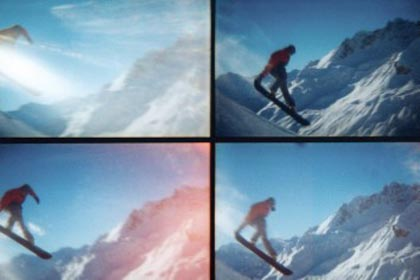 Action Sampler Beispiel snowboard