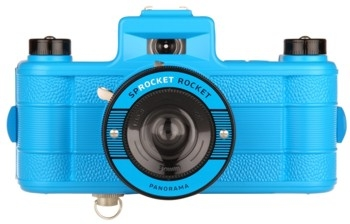 Lomography Sprocket Rocket Kamera - Superpop! Blau