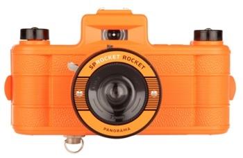 Lomography Sprocket Rocket Kamera - Superpop! Orange