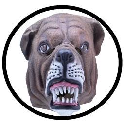 Bulldogge Maske Erwachsene - Klicken für grössere Ansicht