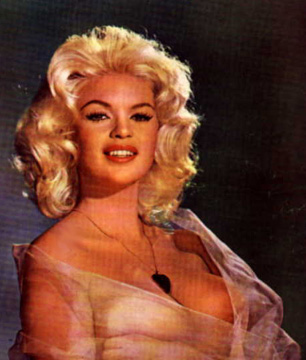 Jayne Mansfield - clear Dress