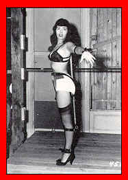 Bettie Page - gefesselt