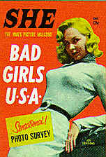 Pulp Fiction Covers - SHE Badgirls USA