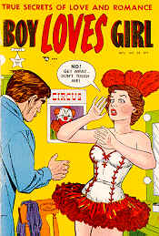 Weird Comics Covers - Boy Loves Girl