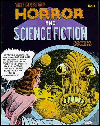 Weird Comics Covers - Horror and Science Fiction