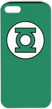 Green Lantern Logo iPhone 5 Cover Handyschutzhülle