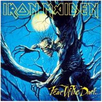 LP Metal Magnet - Iron Maiden (Fear of the dark)