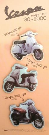 Vespa Magnetset - 80er Jahre bis 2000