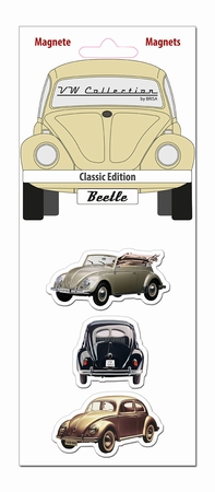 VW Beetle Magnetset - Classic Edition