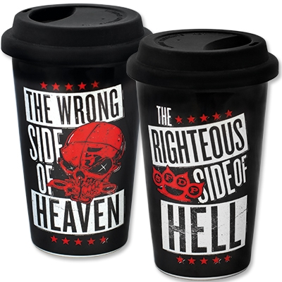 Keramikbecher ToGo Thermo - 5FDP Five Finger Death Punch
