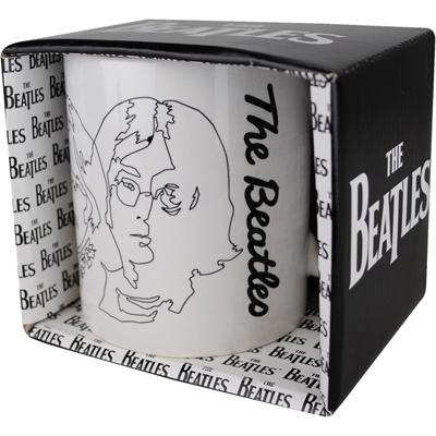 Tasse - Beatles Doodle