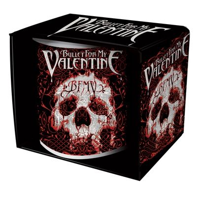 Tasse - Bullet For My Valentine - Elegant Skull