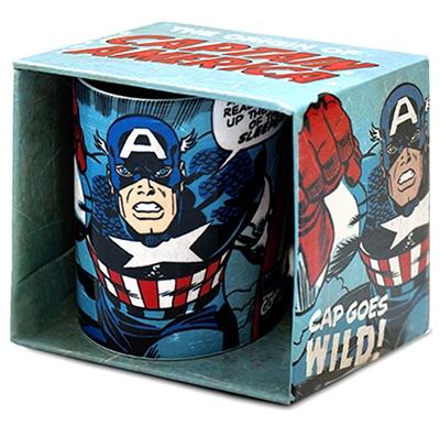 Tasse - Captain America - Cap Goes Wild