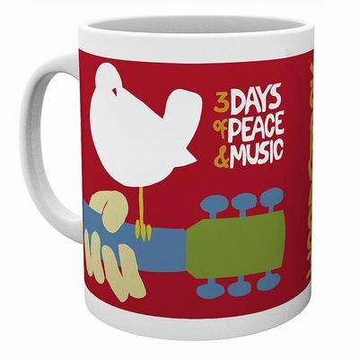 Woodstock Tasse 3 Days of Peace