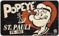 Frühstücksbrettchen - Popeye St. Pauli