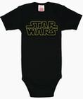 Babybody - Star Wars Logo - Schwarz