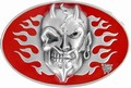 1 x DEVIL SKULL -  BELT BUCKLE