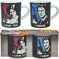 MINI TASSEN 2ER SET - STAR WARS - I LOVE YOU - I KNOW